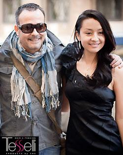 Мастер Татьяна Ли-Ци-Сю и Антонио Чиканилья на выставке