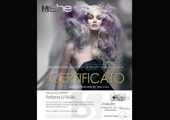 Практикующий мастер по наращиванию волос Татьяна Ли-Ци-Сю