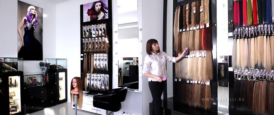 Магазин-студия наращивания волос
