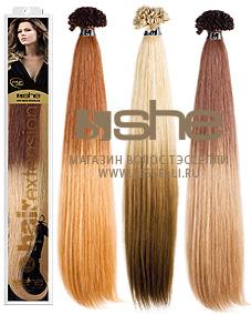 Волосы для наращивания (Шатуш-окрашивание)