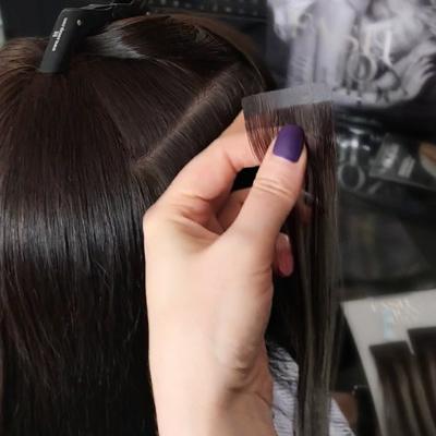 Волосы на ленте