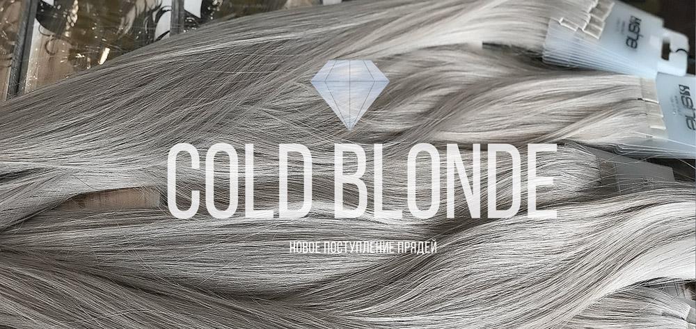 пряди оттенка холодный блонд