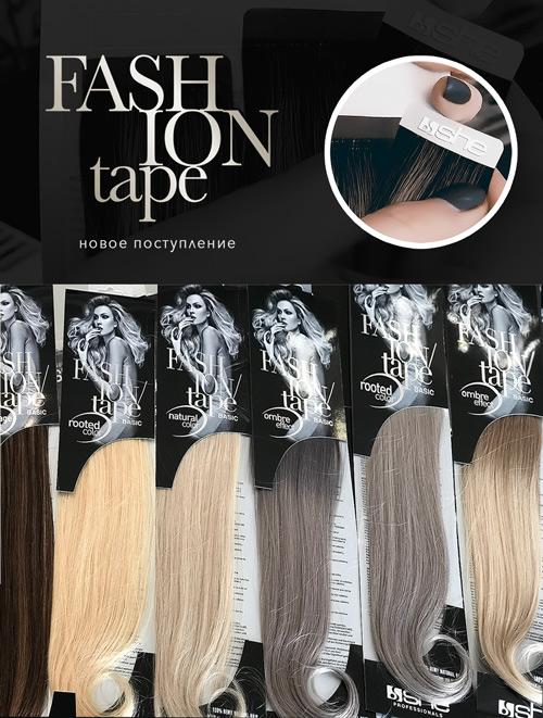 Прямые волосы на капсулах для наращивания