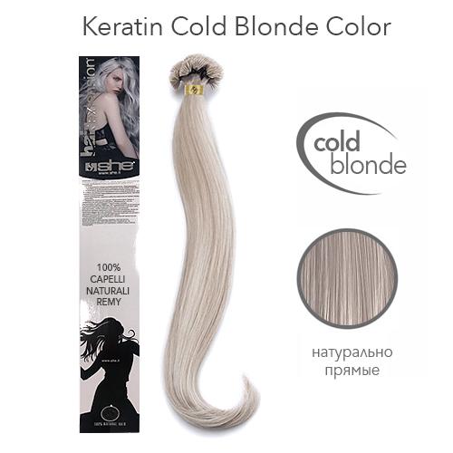 Прямые волосы Remy на кератиновой капсуле оттенки блонд