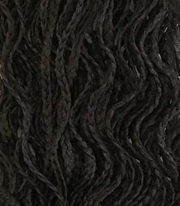 афрокосички стрейт тёмно-коричневый