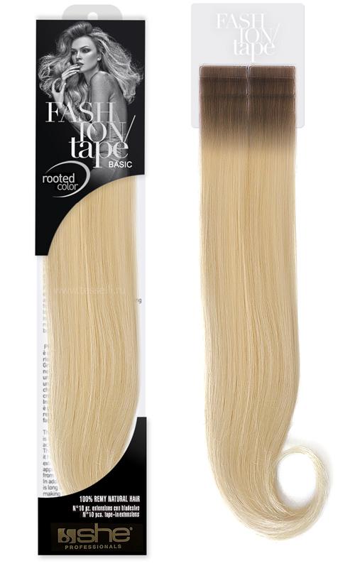 Натуральные волосы на полимерной ленте