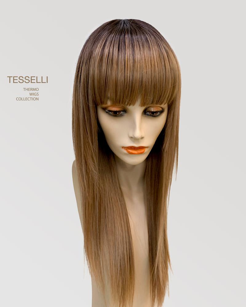 парик женский длинный с чёлкой